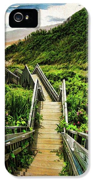 Landscape iPhone 5s Case - Block Island by Lourry Legarde