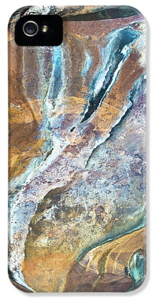 IPhone 5s Case featuring the photograph Blue Fantasy, Bhimbetka, 2016 by Hitendra SINKAR