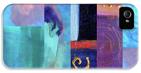 IPhone 5s Case featuring the digital art Blue Love by Nancy Merkle