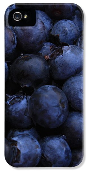 Blueberries Close-up - Vertical IPhone 5s Case