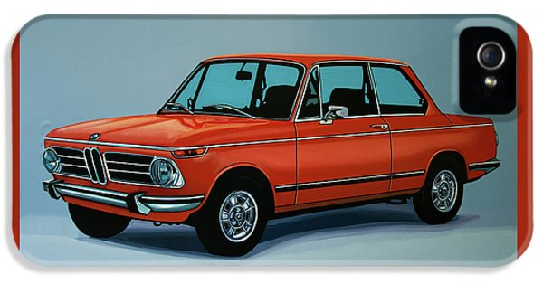 Bmw 2002 1968 Painting IPhone 5s Case
