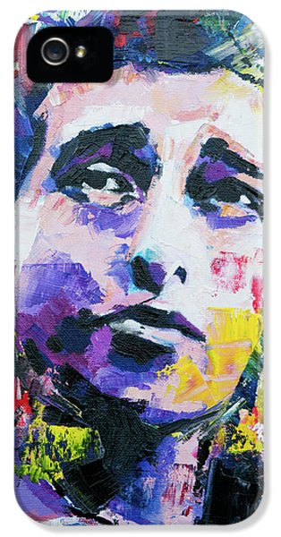 Bob Dylan Portrait IPhone 5s Case by Richard Day