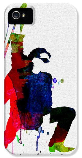 Bono Watercolor IPhone 5s Case by Naxart Studio