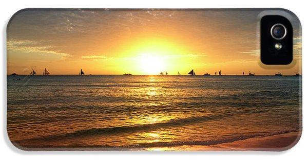 Venice Beach iPhone 5s Case - boracay,Philippians 4 by Mark Ashkenazi