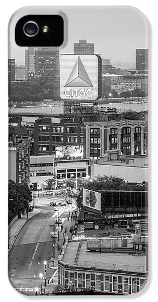 Harvard iPhone 5s Case - Boston Skyline Photo With The Citgo Sign by Paul Velgos