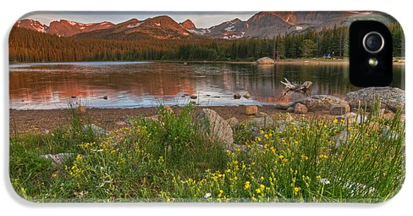 IPhone 5s Case featuring the photograph Brainard Lake by Gary Lengyel