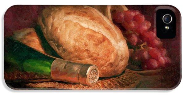 Bread And Wine IPhone 5s Case by Tom Mc Nemar