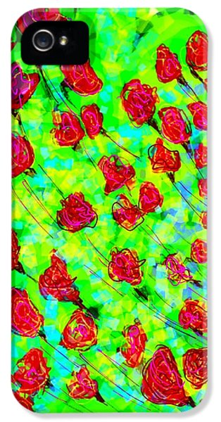 Bright IPhone 5s Case by Khushboo N