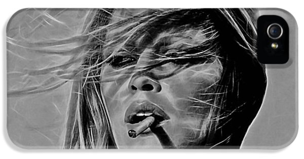 Brigitte Bardot Collection IPhone 5s Case by Marvin Blaine