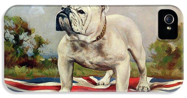 Dog iPhone 5s Case - British Bulldog by English School