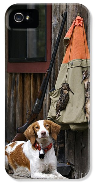 Brittany And Woodcock - D002308 IPhone 5s Case by Daniel Dempster