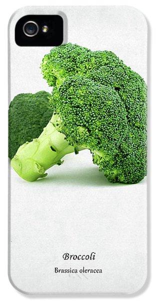 Broccoli IPhone 5s Case by Mark Rogan