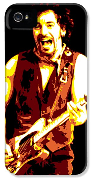 Bruce Springsteen iPhone 5s Case - Bruce Springsteen by DB Artist