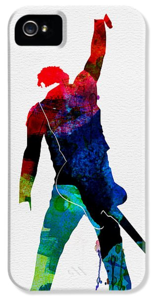 Bruce Watercolor IPhone 5s Case by Naxart Studio