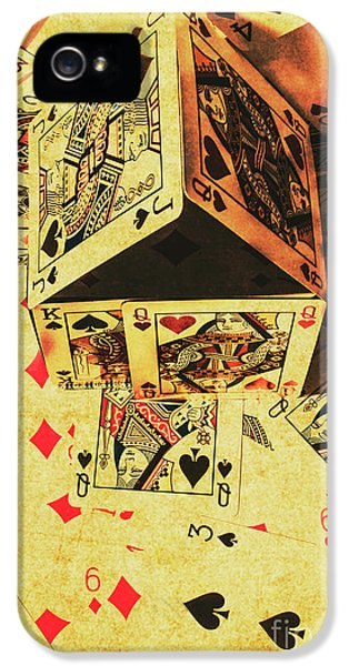 IPhone 5s Case featuring the photograph Building Bets And Stacking Odds by Jorgo Photography - Wall Art Gallery