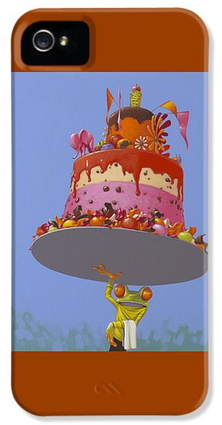 Cake IPhone 5s Case by Jasper Oostland