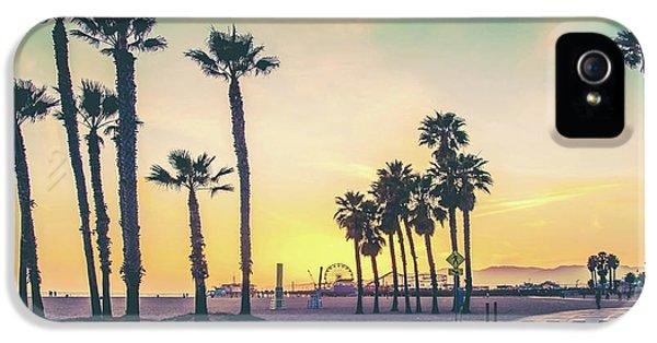 Venice Beach iPhone 5s Case - Cali Sunset by Az Jackson