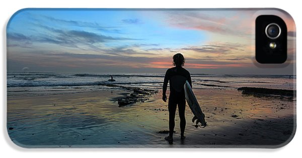 Ocean Sunset iPhone 5s Case - California Surfer by Larry Marshall