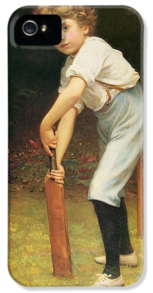 Cricket iPhone 5s Case - Captain Of The Eleven by Philip Hermogenes Calderon