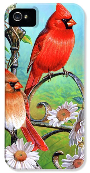 Cardinal Day 3 IPhone 5s Case by JQ Licensing