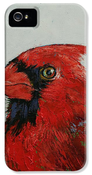 Cardinal IPhone 5s Case by Michael Creese
