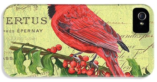 Cardinal iPhone 5s Case - Cardinal Peace by Debbie DeWitt