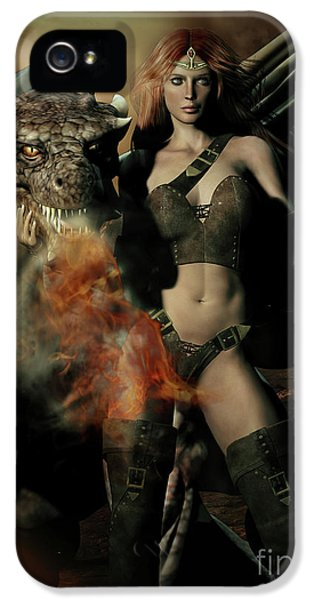 Careful He Burns IPhone 5s Case by Shanina Conway