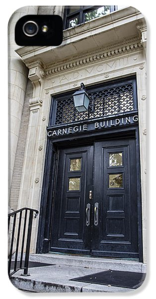 Carnegie Building Penn State  IPhone 5s Case by John McGraw