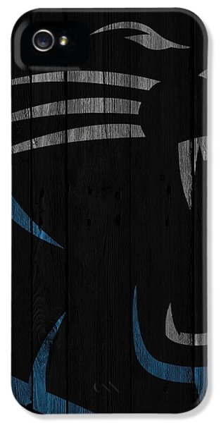 Caroilina Panthers Wood Fence IPhone 5s Case by Joe Hamilton