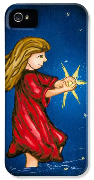 Catching Moonbeams IPhone 5s Case by Jana Nielsen