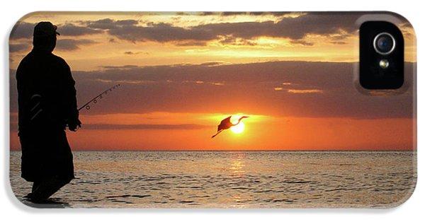 Dick Goodman iPhone 5s Case - Caught At Sunset by Dick Goodman