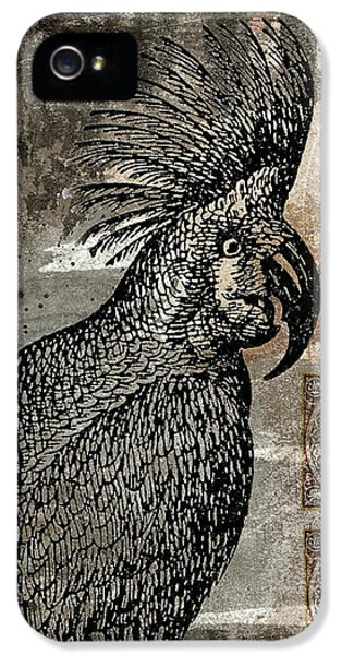 Cockatoo iPhone 5s Case - Caution Hot Cockatoos Postcard by Carol Leigh