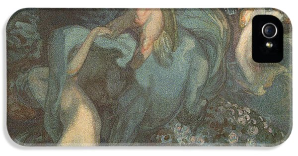 Centaur Nymphs And Cupid IPhone 5s Case