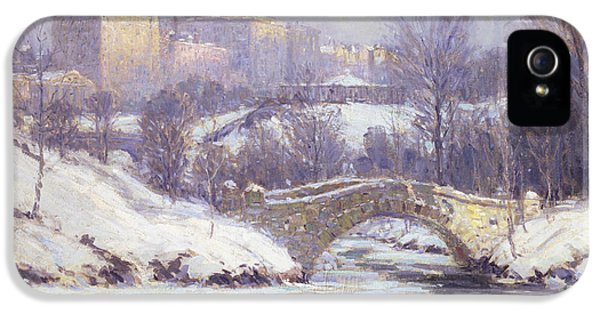 Central Park IPhone 5s Case by Colin Campbell Cooper