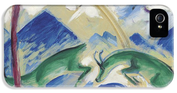 Chamois IPhone 5s Case by Franz Marc