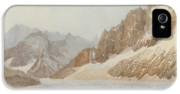 Mountain iPhone 5s Case - Chamonix by SIL Severn