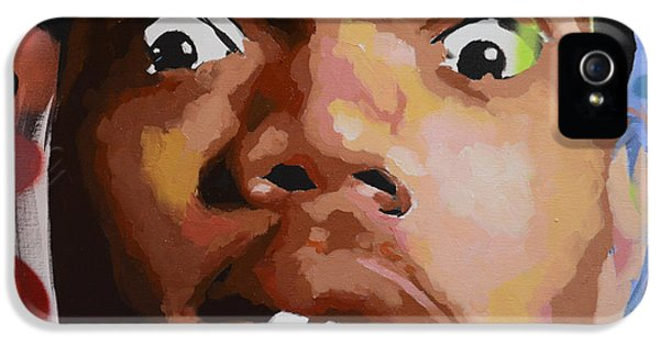 Biggie iPhone 5s Case - Chance by Richard Day