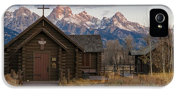 Chapel Of The Transfiguration - II IPhone 5s Case by Gary Lengyel