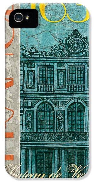 Clock iPhone 5s Case - Chateau De Versailles by Debbie DeWitt