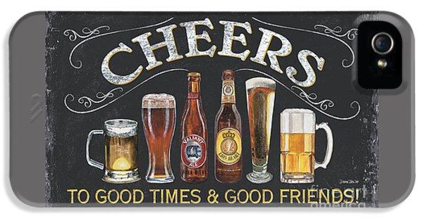 Beer iPhone 5s Case - Cheers  by Debbie DeWitt