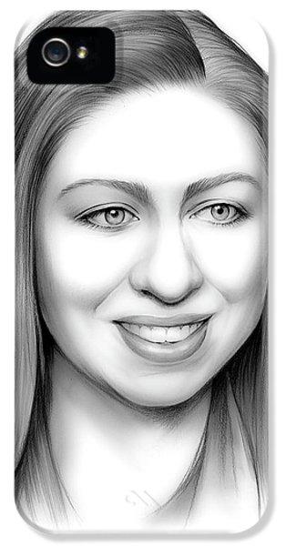Hillary Clinton iPhone 5s Case - Chelsea Clinton by Greg Joens