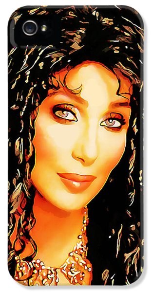 Sonny iPhone 5s Case - Cher by Marvin Blaine