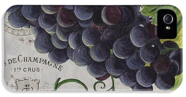 Wine iPhone 5s Case - Vins De Champagne 2 by Debbie DeWitt