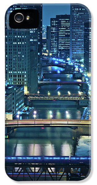 Chicago iPhone 5s Case - Chicago Bridges by Steve Gadomski
