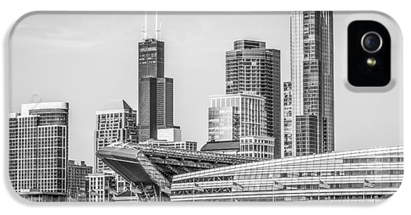 Chicago Skyline With Soldier Field And Willis Tower  IPhone 5s Case by Paul Velgos