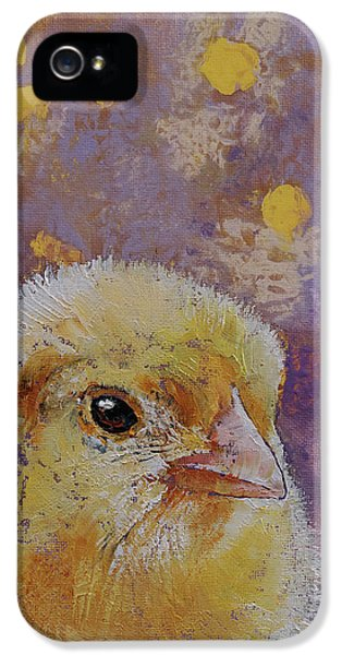 Chick IPhone 5s Case by Michael Creese