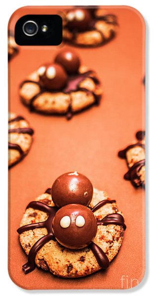 Chocolate Peanut Butter Spider Cookies IPhone 5s Case by Jorgo Photography - Wall Art Gallery