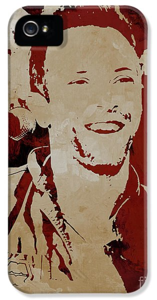 Chris Martin Coldplay IPhone 5s Case
