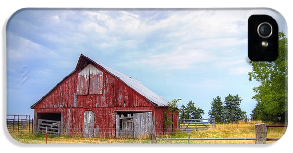 Cricket iPhone 5s Case - Christian School Road Barn by Cricket Hackmann