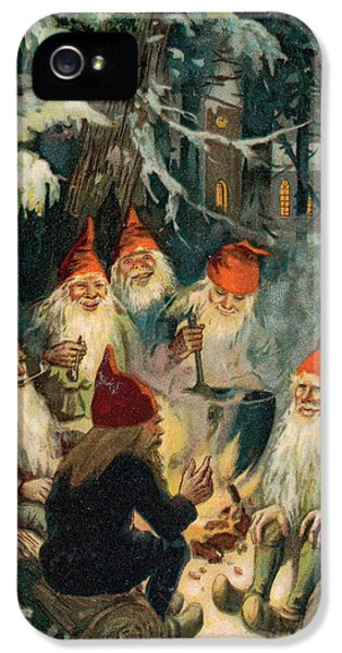 Elf iPhone 5s Case - Christmas Gnomes by English School